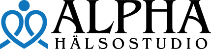 Alpha Hälsostudio Logotyp